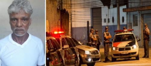 Criminoso é executado ao apontar pistola em direção para um tenente da PM