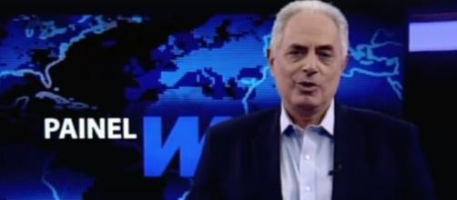 Ex-âncora do 'Jornal da Globo, William Waack estreou programa na All TV.