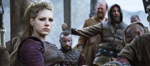 Personagem Lagertha, da série ''Vikings''