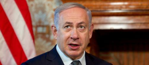 Prime Minister Benjamin Natanyahu held press conference disclosing Iran's lies about nuclear capabilities. (Image via India Tv/Youtube)