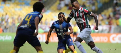 Santos perdeu para o Fluminense no ano passado