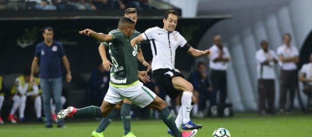 Corinthians ficou no empate com a Chape em 2017. (foto reprodução).