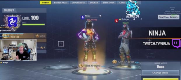 'Fortnite' player Ninja. [Image credit: YouTube/Fortnite Highlights]