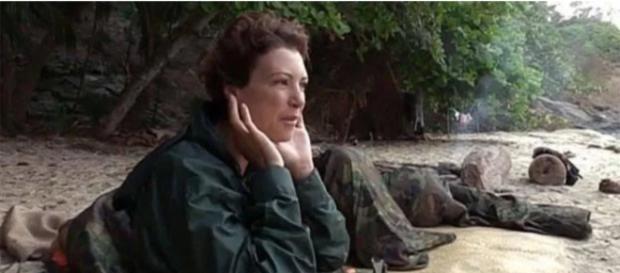 María Jesús Ruiz en la isla de Supervivientes