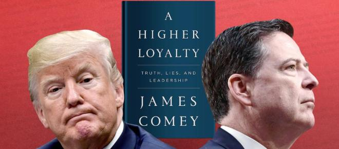 James Comey feels that Trump is 'morally unfit to rule'
