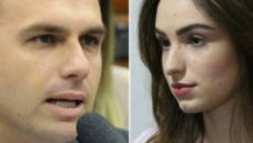 'Tinha de ter apanhado mais para ficar calada', comenta Eduardo Bolsonaro; veja