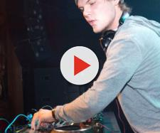 Il dj svedese Avicii al lavoro