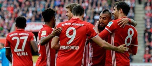 5 a1 del Bayern sul Borussia Monchengladbach