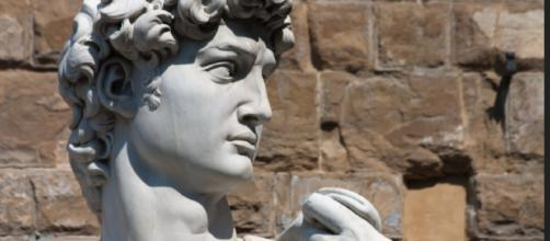 """""""David"""" (detail) by Michelangelo describing the Biblical hero's state of mind. [image source: Eusebius@Commons - Flickr]"""