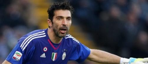 In foto Gianluigi Buffon, capitano della Juventus