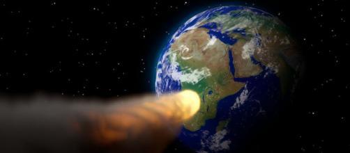 L'asteroide 2018 GE3 sfiora la terra