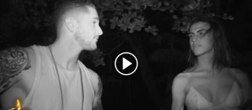 ¡Primer acercamiento íntimo entre Hugo y Sofía en Supervivientes!