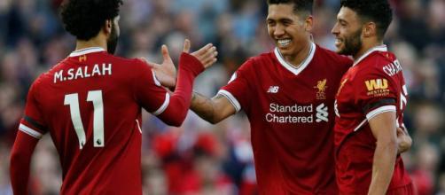 Tridente del Liverpool hace su trabajo.