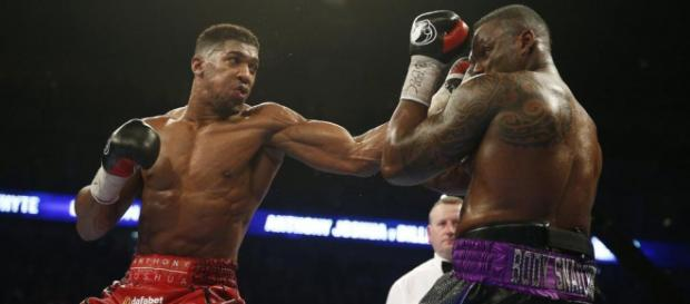 Anthony Joshua scoring one of his 20 knockouts (Source: Action Images)