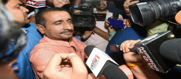 BJP's Kuldeep Singh Sengar Sent To 7 Days' CBI Custody (Image via NDTV)