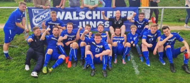 """Die Walschlebener haben die """"Festung"""" Marbach eingenommen und mausern sich zum festen Titelkandidaten. Foto: Verein"""
