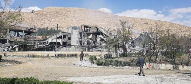 Frappes occidentales en Syrie : découvrez les premières images