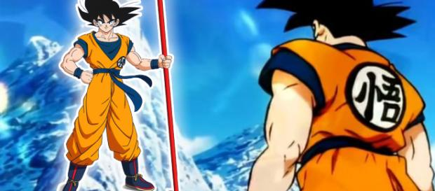 Goku will face another Saiyan in the upcoming 'Dragon Ball Super' movie. [image source: iHeartBuzz/YouTube]