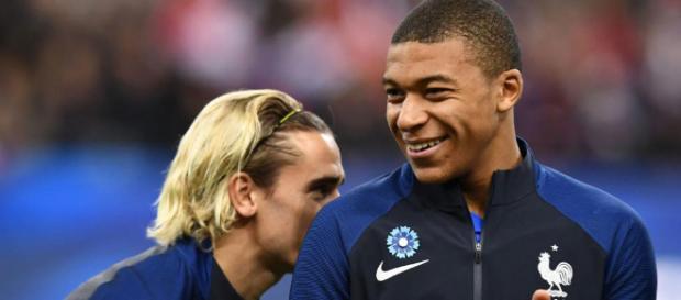 Mbappé y Griezmann cambiarían de equipo