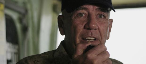 R Lee Ermey [image courtesy United States Marine Corps wikimedia commons]