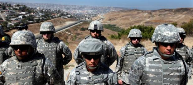 Reservistas se desplazan a zona fronteriza con México