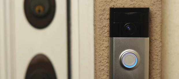 The Ring Video Doorbell allows you to stream your front steps to your smartphone 24/7. [image source: Ring/YouTube]