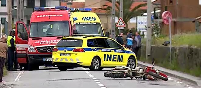 Dois motociclistas morrem em violentos acidentes