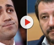 In alto, immagine di Luigi Di Maio e Matteo Salvini