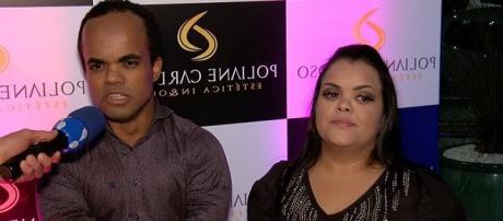 A esposa de Marquinhos ainda ficou furiosa ao ser comparada com Juliana Caldas. (foto reprodução).