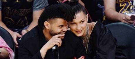 Bella Hadid and The Weeknd back in 2016. [Image source: Instagram/Bella Hadid]