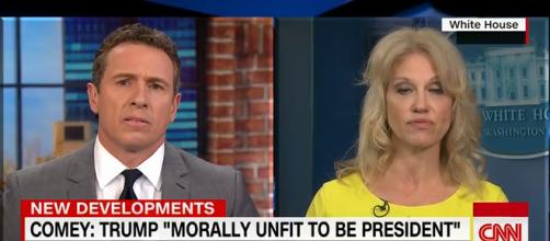 Chris Cuomo, Kellyanen Conway, via YouTube