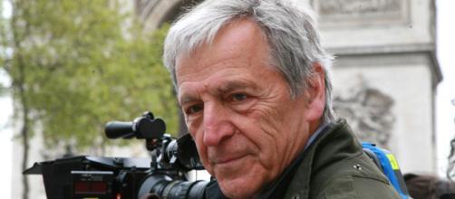 Constantin Costa Gavras, en el rodaje de cualquiera de sus incisivas películas.