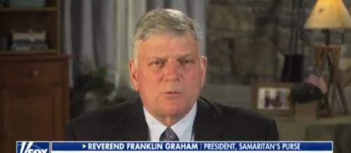 Franklin Graham on Fox News, via Twitter