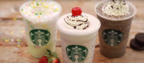 Frappuccinos are popular to stay cool in the spring. Image via: MsMojo/YouTube Screenshot