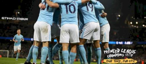 O Manchester City é campeão da Premier League!
