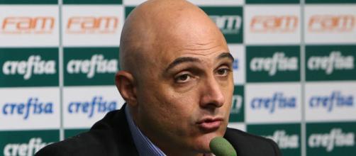 Presidente Maurício Galiotte não quer retorno de atacante