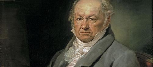 Retrato de Francisco de Goya y Lucientes.