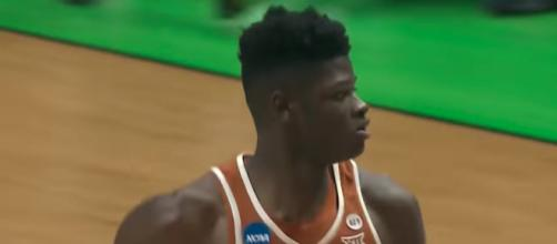 The Cavs may look to add big man Mohamed Bamba out of Texas to the roster via the NBA Draft. [Image source: NCAA March Madness - YouTube]
