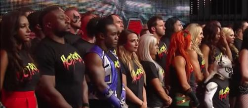 The WWE's latest 'Superstar Shake-up' starts on 'Raw' in Hartford on Monday night. [Image via WWE/YouTube]