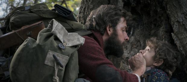 A Quiet Place-Los actores deben hacer silencio para no ser descubiertos