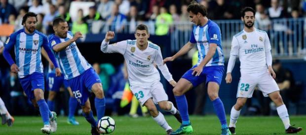 Gran victoria del Real Madrid ante Málaga.