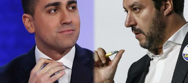 Matteo Salvini e Luigi Di Maio, convergenza sulle pensioni