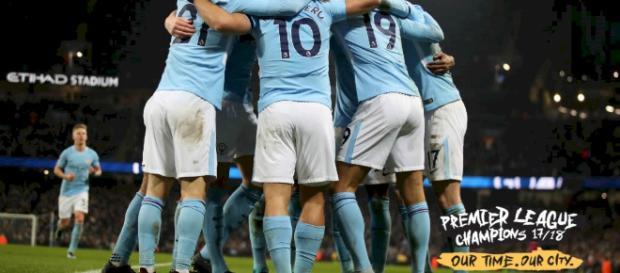 O Manchester City é campeão da Premier League!