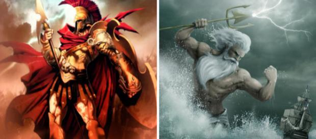 Qual deus grego melhor representa cada um dos signos?