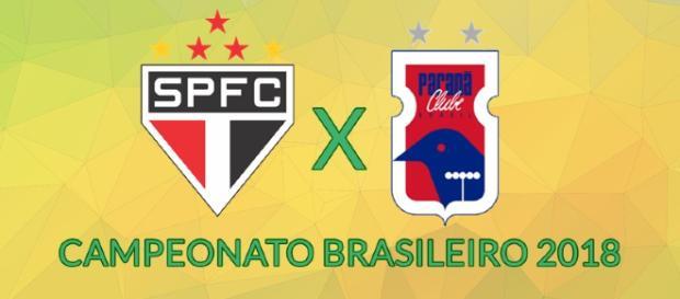 São Paulo x Paraná ao vivo nesta segunda-feira