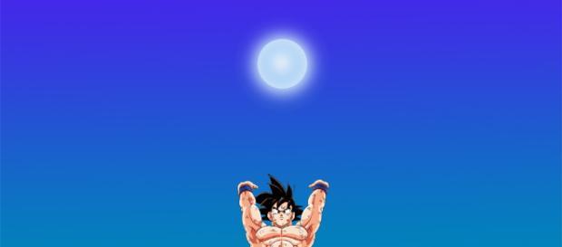 Son Goku bereitet eine Genkidama vor!