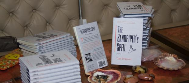 'The Sandpiper's Spell' is the first book of poetry that Tom Pearson has published. / Image via Tom Pearson, used with permission.