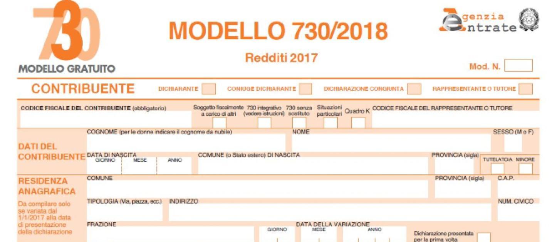 Modello 730 2018 precompilato disponibile scadenze e chi for 730 precompilato accedi