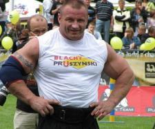 Mariusz Pudzianowski (fot: Artur Andrzej).