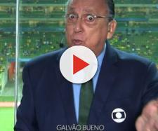 Galvão Bueno, da TV Globo, em transmissão